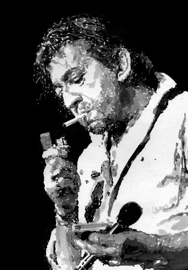 Serge Gainsbourg par Pastis